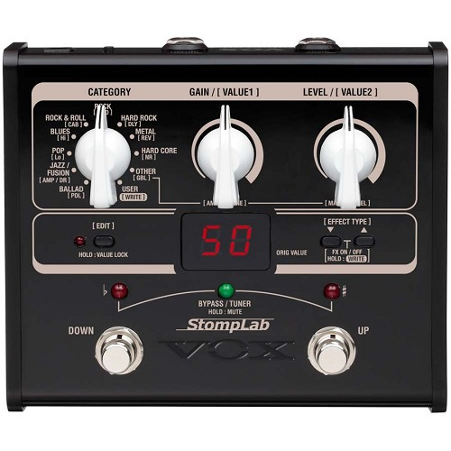 VOX StompLab Guitar Multi-Effects Processor [SL1G] - Guitar Multiple Effect